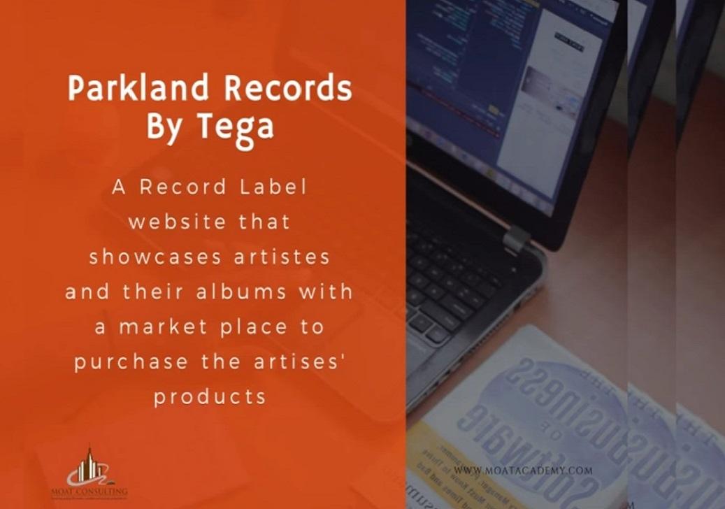 Presentation by Tega - Parkland Records