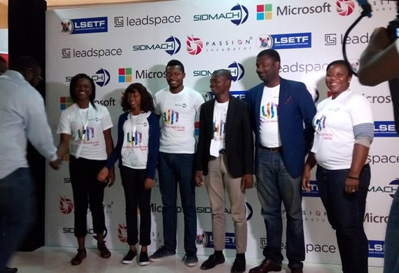 6-man Winning Team at the UN Hackathon Picture